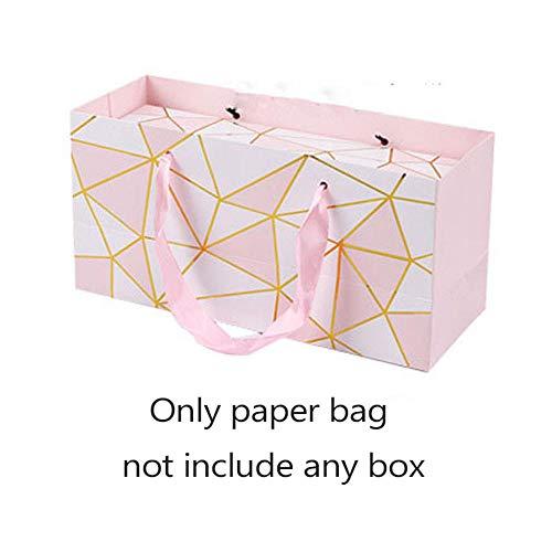 mingyimingshangmao Kreative Flamingo Geschenkbox Marmor Papiertüte Nougat Kekse Tragetaschen Hochzeit Schokoladenkuchen Verpackung Papierboxen Partyangebot