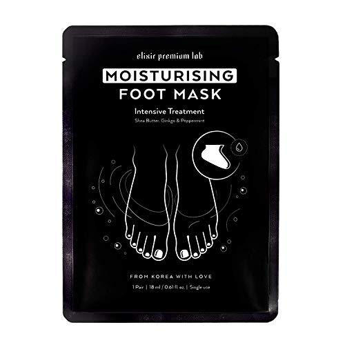 KOREAN Moisturizing Foot Mask (1 Pack) - Hydrating Socks for Women & Men - Spa Feet Treatment...