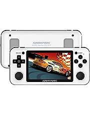 "Anbernic RG351P Consola Retro 2500 juegos, Buena Consola de Juegos Portátil 64GB soporta PSP,NDS,DC,RK3326 Chip 1.5GHz,Open Source Linux System Consola de videojuegos 3.5""IPS(Blanco)"