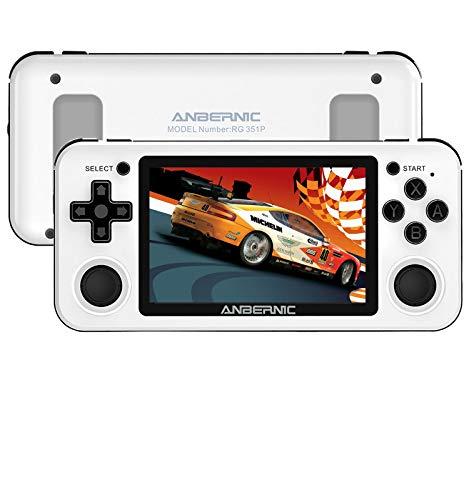 Anbernic RG351P Consola Retro 2500 juegos, Buena Consola de Juegos Portátil 64GB...