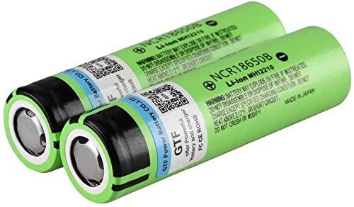 Batería de Litio 18650 3400mAh 3.7V para Linterna LED o Equipo de batería Plana electrónica-PC 1