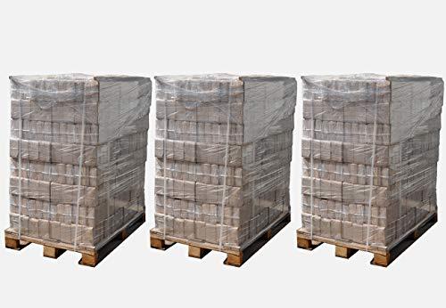 ▶ Briquetas de madera, mezcla de madera dura, 2o 3paletas