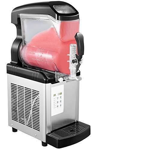 VEVOR Gewerbliche Slush Eismaschine 6L Edelstahl Slusheis Maschine Slushmaschine Slushgerät
