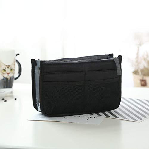 N / A Heiße multifunktionale tragbare Leinwand-Reisetaschen Kosmetik-Aufbewahrungstaschen Make-up Herren Herren Casual Organizer-Taschen 30x18.5x8.5CM