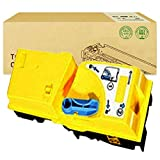 Compatible with KYOCERA TK820 Toner Cartridge for KYOCERA FS-C8100DN Color Copier Cartridge,Yellow