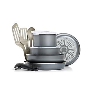 Tefal Ingenio 5 - Set de 11 Piezas con Mango extraíble de Aluminio Antiadherente (B00KR7LILQ) | Amazon price tracker / tracking, Amazon price history charts, Amazon price watches, Amazon price drop alerts