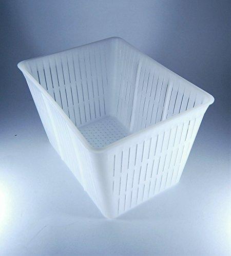 Forma plastica per formaggio Lunghezza: 16cm Larghezza: 12cm Altezza: 11cm Peso del formaggio: 1.5kg