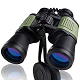 20x50 Binoculars for Adults - HD Professional Binoculars with Smartphone Adapter Large Field of View High Power Binoculars for Hunting Birdwatching Concert Opera Outdoor Sports with Case