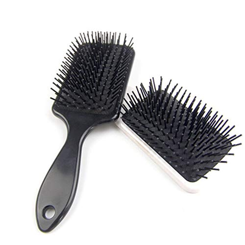 Generic 1pc Abody Hair Brush Anti-static air cushion large board hair comb Airbag massage comb beauty Makeup tool Hair Care Styling Tool Black