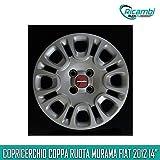 MURAMA Fiat Panda 2012 Copricerchio Coppa Ruota 14' cod 1309