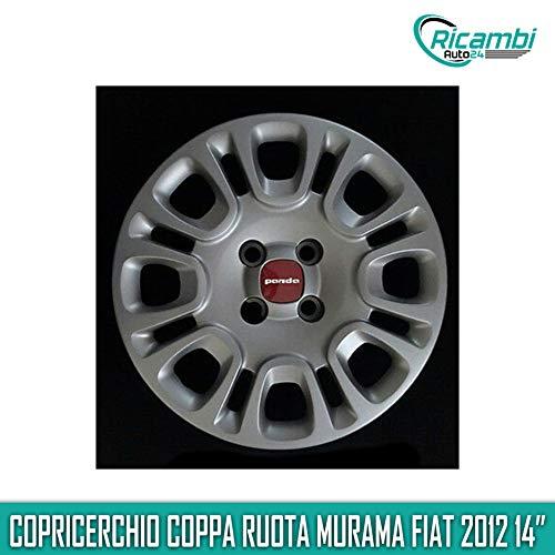 "MURAMA Fiat Panda 2012 Copricerchio Coppa Ruota 14"" cod 1309"