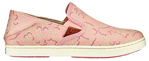 OluKai Pehuea Humu Lau Women's Sneakers Dusty Pink/Dusty Pink - 9.5