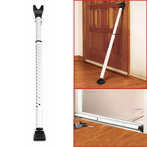 Master Lock 265EURDAT Sicherungsstange fürTür und Fenster [Verstellbar - bis 70 cm zu 112 cm] [Türsicherung und Fenstersicherung]