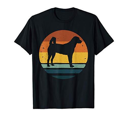 Anatolian Shepherd Vintage Retro Dog Mom Dad Gift T-Shirt