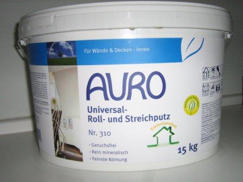 AURO Universal-Roll-und Streichputz fein - Nr. 310 - 15 Kg