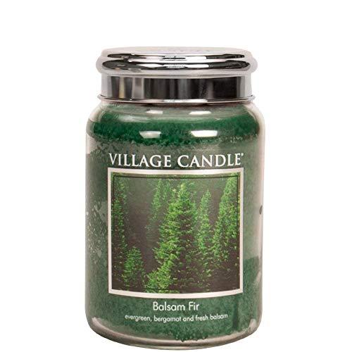 Village Candle Balsam gran 25 oz stor glasburk doftande ljus