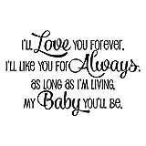 KYSUN I'll Love You Forever I'll Like You for...