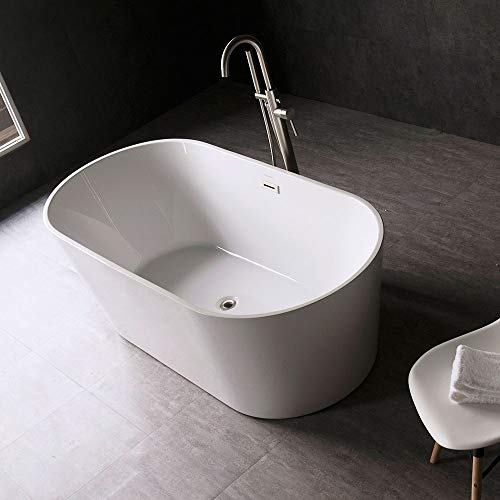 Woodbridge 59 inch Acrylic Freestanding Bathtub