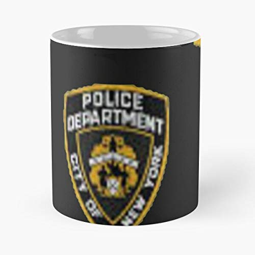 Mememecosmetics TV NYC Show 99Th New NY Police Brooklyninenine York Taza de café con Leche 11 oz