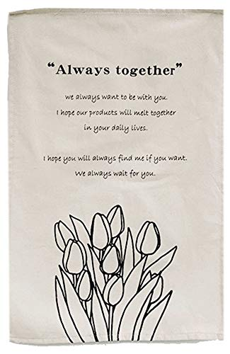 タペストリー レトロ 壁掛け チューリップイラスト 花柄 ファブリックポスター 壁飾り インテリア おしゃれなカフェ風ウォールアート (Aタイプ)