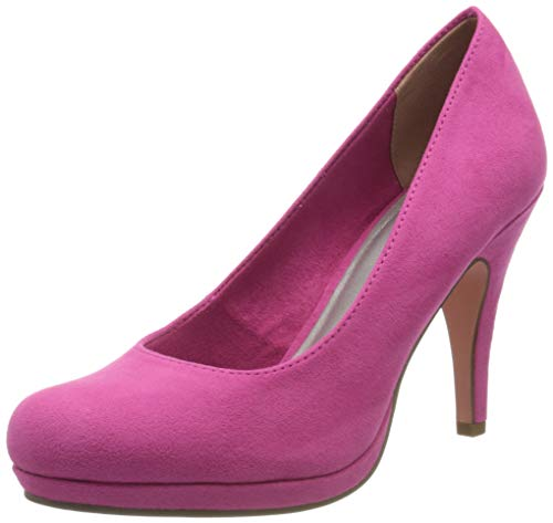 Tamaris Damen 1-1-22407-24 Pumps, Pink (Fuxia 513), 39 EU
