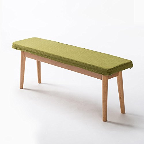 MEIDUO Durable Selles Banc en bois massif Long banc Tabouret Tabouret casual créatif 115 * 28 * 43CM (L * W * H) pour intérieur extérieur (Couleur : E)