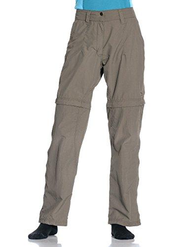 Salewa Jasi Dry W Pantalon de randonnée 2 en 1, Femme, Marron, ES 44 (IT 48)
