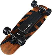 Atom Electric B10 Skateboard - 1000W Belt Drive - 90Wh Li-Ion Battery, Brown, 29.5