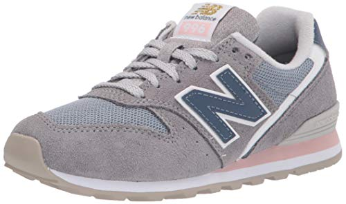 New Balance WL996WS, Sneaker Mujer, Gris, 37.5 EU