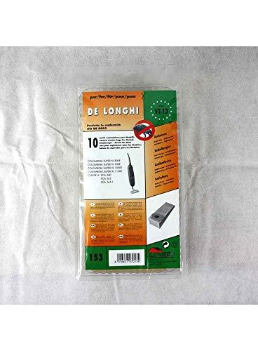 Sconosciuto D305MF 5 Sacchetti Filtro Microfibra anallergici x De Longhi Colombina Super XL 1100E