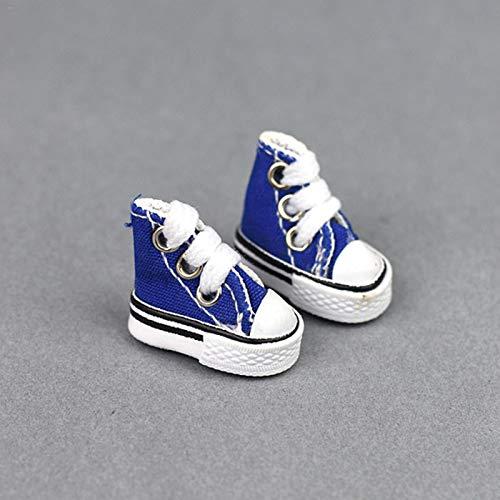 Swide Mini Zapatilla de Lona para niñosAdultos Skateboard Finger Juegos de Baile con Dedos Mini Skate Shoes Fingerboard Tennis Tennis Regalo de cumpleaños sin llaveros Beneficial