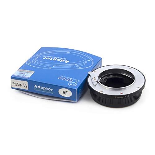 Pixco AF Confirm Adapter Objektivadapter Exakta Objektiv auf Olympus Four Thirds 4/3 Kamera Olympus E-5 E-7 E420 E620 E520 E-410 E-510 E500 E3 E510 E-300 E-300 EVOLT E450 E30 E400