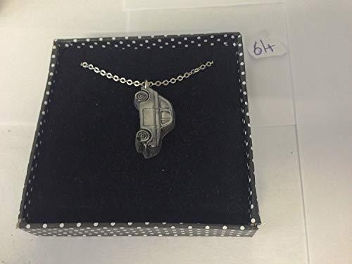 FIAT 5003D Anhänger auf Silber Platin Plattiert Halskette handgefertigt 45,7cm ref64