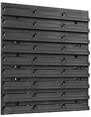 Opbergsysteem, wandrek, stapelboxen, schudkast, extra sterke wandplaten, uitbreidbaar, werkplaatsrek, opbergrek, werkplaatsrek, wandrek, steekrek