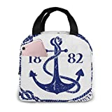 DODOD bolsa del almuerzo California State Republic Reusable Lunch Bag insulated Cooler Tote Portable Box with Front Pocket for Work School