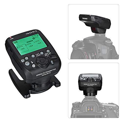 YONGNUO YN-E3-RT II Blitzausl?Ser f¨¹r Blitzlichttransmitter vor der Kamera Kompatibel mit ST-E3-RT / 600EX-RT/YN-E3-RT / YN968EX-RT / YN600EX-RTII /...