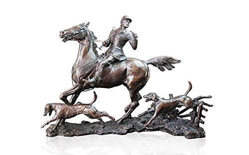 Limited Edition Hot Cast Bronze Horse Doubling the Horn David Geenty Ltd Ed 50