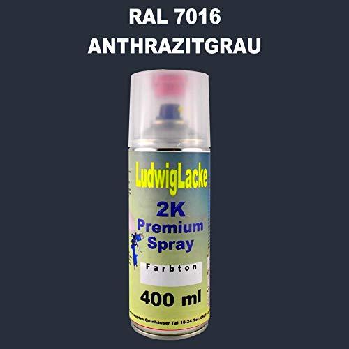 RAL 7016 ANTHRAZITGRAU 2K Premium Spray MATT 400ml