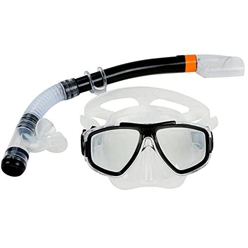 N\C Máscara de Buceo Gafas de natación Conjunto de Snorkel Niños Adultos Buceo Equipo de Snorkel portátil práctico Accesorios de natación subacuática