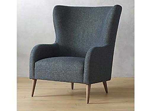 The Mayuri Wooden and Fabric Backrest Accent Sofa Chair
