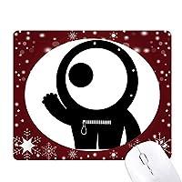 エイリアンエイリアン宇宙怪物・サイクロプス オフィス用雪ゴムマウスパッド