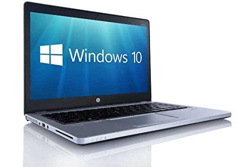 HP Elitebook Folio 9470M Ultrabook da 14 Pollici Nucleo I5-3437U 8Gb 180GB Ssd WiFi Webcam retroilluminato di Windows 10 Professional 64-Bit PC Portatile (rinnovato)