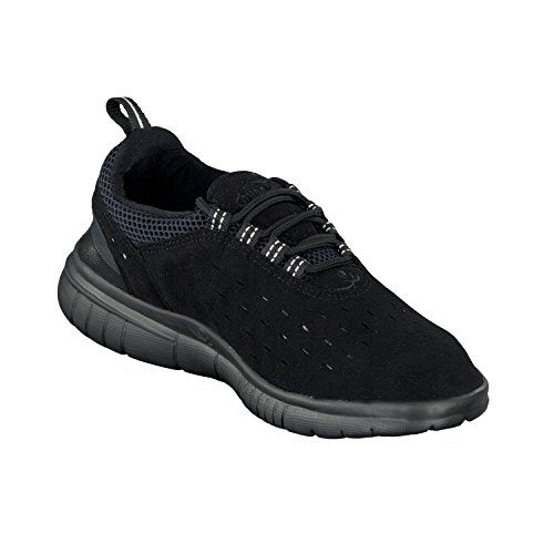 Chung Shi Duflex Trainer Unisex-Erwachsene Sneaker, Schwarz (Schwarz 8800010), 38 EU