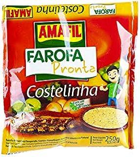 Harina de Yuca tostada y especiada, 250g - Farofa Pronta