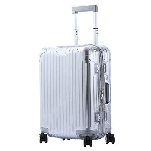 Sunikoo Transparent Cover Skin for 2018 Original Luggage Suitcase Gray Closure
