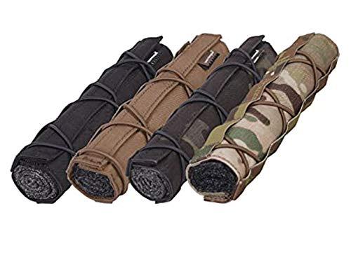 Schalldämpfer-Abdeckung für Airsoft, 22 cm, für Militär, Jagd, taktische Spiele, multicam