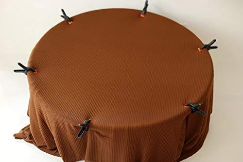 PZNSPY 8 Farben Neugeborenen posieren Kulissen Waffel Decke dehnbar Sitzsack Stoff Baby Fotografie Requisiten strukturierte Foto Pose für Etsy, Kaffee, 100x150cm