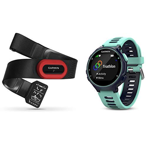 Best Buy! Garmin 010-01614-16 Forerunner 735XT - EU, Run Bundle, Midnight Blue/Frost Blue