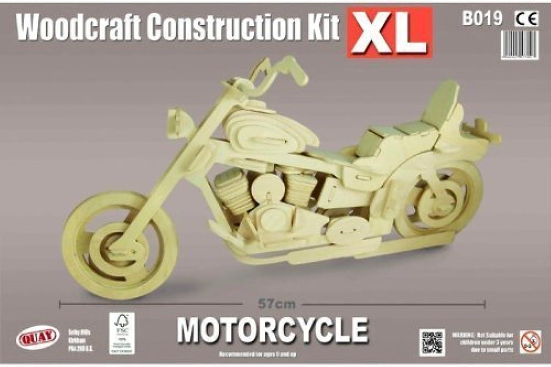 alta calidad Motorcycle XL XL XL - QUAY Woodcraft Construction Kit by Quay  más vendido