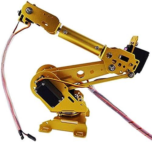 SM SunniMix Roboter-Manipulator 6 DOF-Roboterarm Kit mit Servo Für DIY-Robotik, Arduino-Programmierung
